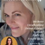 Interview mit Entscheidungsarchitektin Michaela Forthuber | Danielle Marie Armstrong 6 1/2 Fragen zu DIE BESTE ENTSCHEIUNG MEINES LEBENS